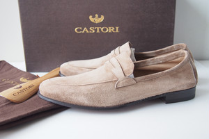 【Sold Out】カストーリ|CASTORI|スエードローファーCASHMERE SUEDE LOAFER CASTORI-SMDE 125|38