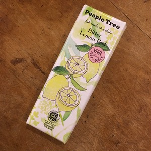 peopletreeフェアトレードチョコレート レモンピール