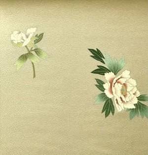 ※ 牡丹の花 九寸帯