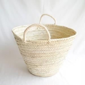 椰子のかごバッグ 大