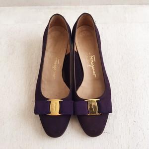 Ferragamo vara shoes ( 34 1/2c )