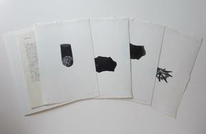 "戸次祥子""百投 hyakunage"" (木口木版) BEKKI Shoko/woodcut print"
