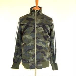 Fleece Stand Collar Blouson Light Camo