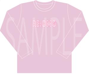 RE:OMG ロンT -PINK- (送料込)