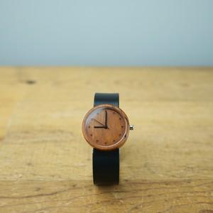 Cherry wood - Japanese leather - M