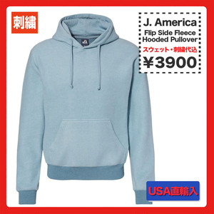 J. America Flip Side Fleece Hooded Pullover (品番8709US)