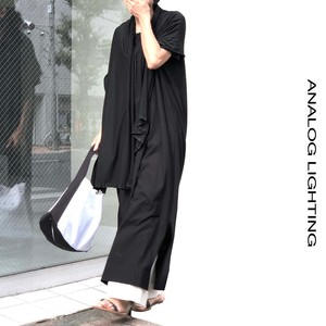 Tee Dress・Long/BLACK