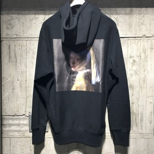 【EFILEVOL】Mosaiced Famous Painting Hoodie
