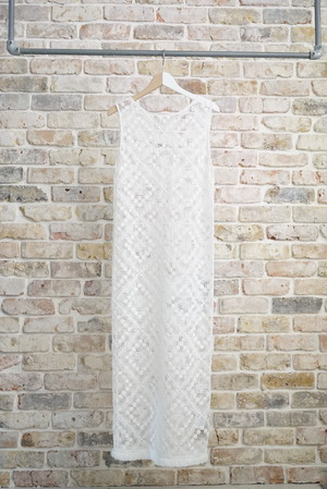 NOWOS /  lace one-piece (white)