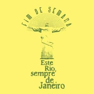 Tshirts_005: Rio de Janeiro [Yellow]