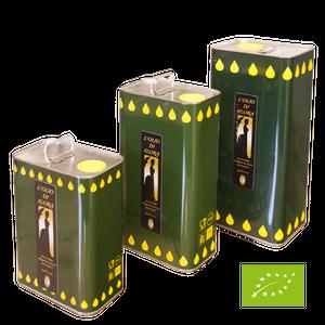 オリーブオイル EU有機認証取得 BIO Olive oil エキストラバージンオリーブオイル(5000ml缶) イタリアモリーゼ産 コールドプレス製法 ジェンティーレ・ディ・ラリーノ 無添加 無漂白 オーガニック
