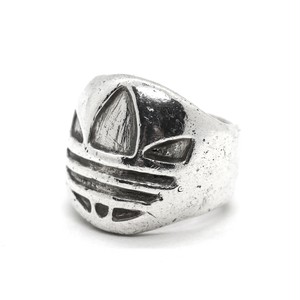 Vintage Sterling Silver Mexican Adidas Bootleg Signet Ring