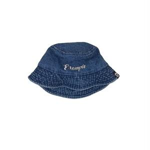 EXAMPLE DENIM BUCKET HAT / BLUE