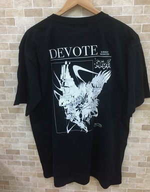-DEVOTE-  Kuragaly × RYHKI コラボ Tシャツ