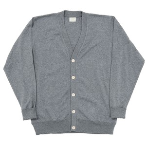WORKERS / FC Knit Medium Weight Cardigan Grey