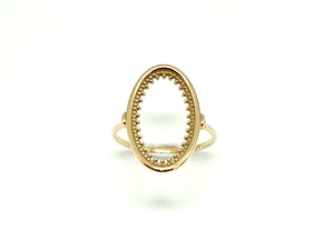 Granulation oval ring
