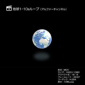 地球1/アルファーチャンネル/ループ