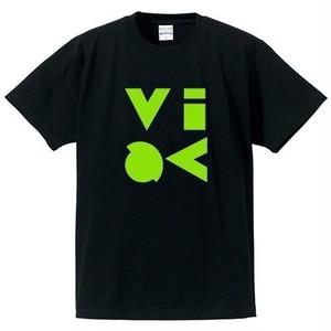 VIVA ロゴ Tシャツ 黒バージョン