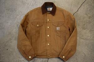 USED 80-90s Carhartt Lined Duck Jacket -36 J0738