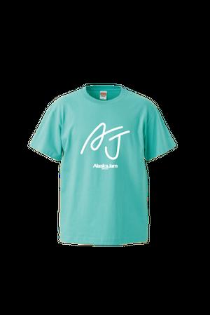 AJロゴTシャツ(ミントグリーン)