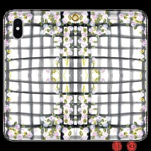 Rose garden 手帳型 スマートフォンケース