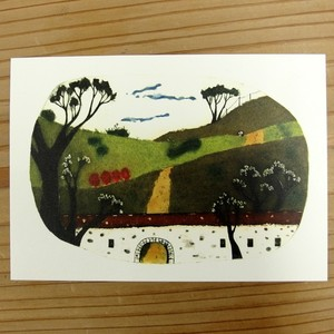 Post Card ポストカード 「会いに行く朝」 #中井絵津子