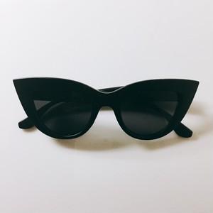 【送料無料◇即納】Eyewear♡キャットアイ01 マットブラック