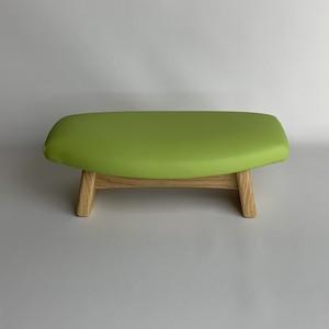 ゴイチ レザー グリーン 座椅子