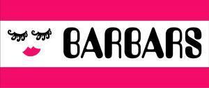 BARBARS ロゴタオル