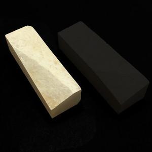 (特価B)天然砥石 名倉砥 三河白(ボタン)200x60x30~40|面付:なし|使用用途:刀剣、剃刀