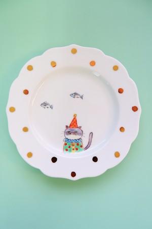 cat circus ② / plate(15cm)