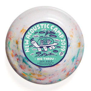 NAC19 BIGTHROW Frisbee / RECYCLED COLOR