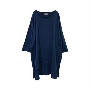 Slit-T-shirts1.2 (navy)