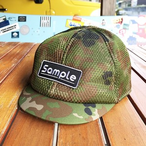 『Sample』 Mesh Low Cap CAMO