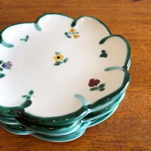 Gmundner Keramik 小花ケーキ皿