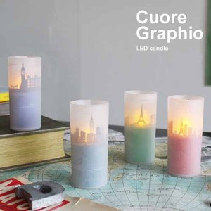 LED candle / Cuore Graphio