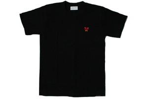 Heart locker tee (BLACK)