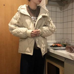 中綿 キルティング ブルゾンジャケット【1043】