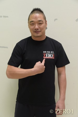 ZERO1 Official LOGO Tee【黒】