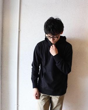 【完売御礼】Healthknit(ヘルスニット)/ Max Weight Pullover Parka(マックスウェイト プルオーバーパーカー)ブラック