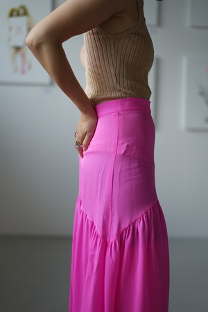 Maryam Nasser Zadeh - CALA ONE TIER SKIRT