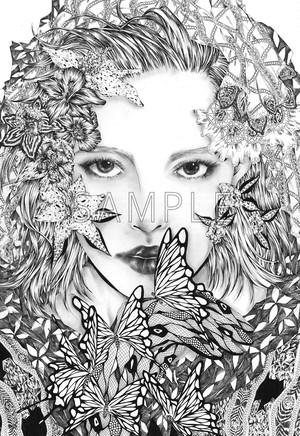 ポストカード 「-Eyeshadow- 在りたい投影」