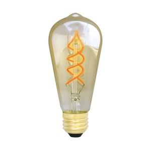 【調光器対応】E26 エジソンバルブ LED スパイラル ロング