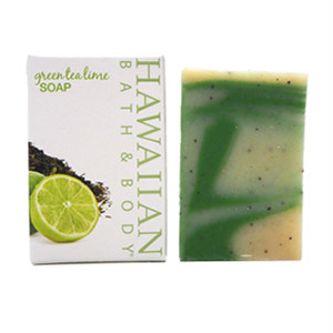 Hawaiian Bath&Body Soap Greentealime