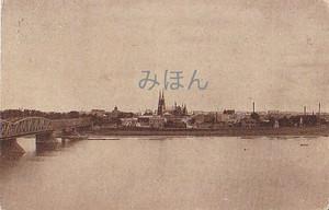 古絵葉書エンタイア「ワルシャワ」(1900年代初頭)