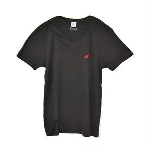 RedFin V Neck Tee Black