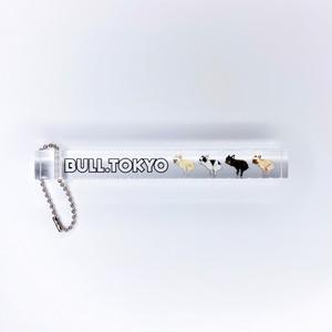 【5/18(月)20:00-】Bull.Tokyo オリジナル ホテルキーホルダー いきむBUHI