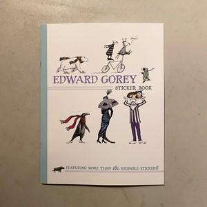 【新刊】EDWARD GOREY STICKER BOOK