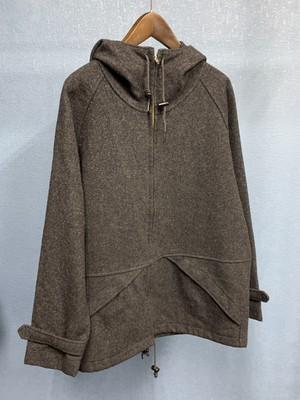 80's Wool hoodie jacket