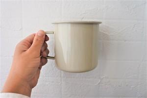 おおきめ琺瑯マグカップ